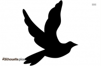 Dove Silhouette Drawing Image