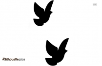 Dove Symbol || Confirmation Doves Silhouette