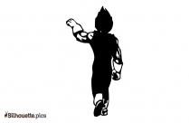 Dragon Ball Hero Silhouette Image