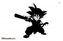Dragon Ball Silhouette Clipart