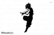 Dragon Ball Cartoon Silhouette Image