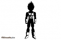 Dragon Ball Fictional Superhero Silhouette Image