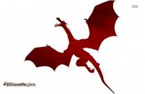 Dragon Symbol Silhouette