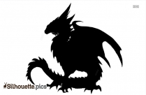 Monster Dragon Silhouette Png