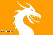 Dragon Silhouette Outline
