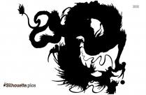 Dragon Tattoo Silhouette