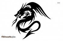 Dragon Tattoos Silhouette