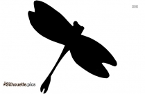 Black Cricket Insect Silhouette Image