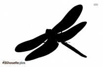 Dragonfly Wings Silhouette Image