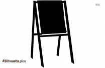 Drawing Board Silhouette