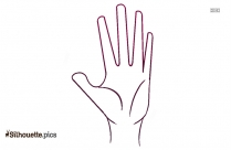 Human Hand Clip Art Silhouette