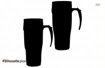 Cartoon Tiffany Glass Silhouette