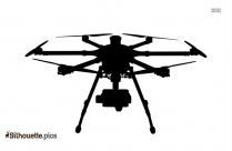 Drone Silhouette Image