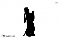 Cartoon Jerry Silhouette Clipart