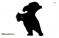 Cartoon Characters Caillou Silhouette