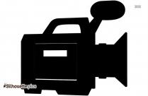 Photography Silhouette, Cartoon Camera Sign
