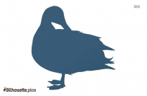 Duck Drawing Symbol Silhouette