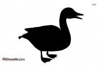 Male Duck Silhouette Clip Art