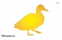 Duck Silhouette Image Art