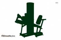 Dip Station Dimensions Silhouette Illustration