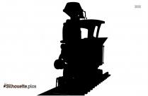 Dumbo Train Silhouette Drawing