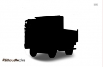 Wheelbarrow Silhouette Vector
