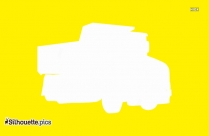 Dump Truck Silhouette Illustration