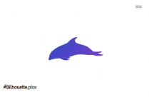 Dolphin Silhouette Drawing