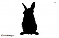 Rabbit Bunny Silhouette Free Vector Art