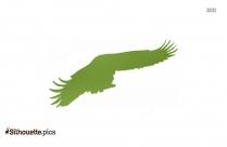 Eagle Flying Silhouette Vector Illustration