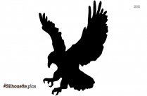 Eagle Flying Silhouette Clip Art