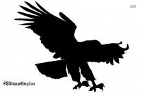 Harpy Eagle Silhouette Clipart
