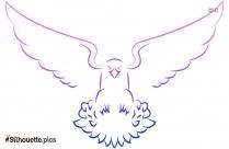 Bird Outline Symbol Silhouette
