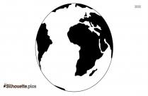 Earth Day Symbol Silhouette