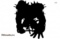 Earth Demon Silhouette Illustration