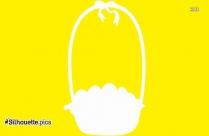 Easter Basket Silhouette