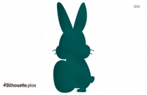 Easter Bunny Cartoon Picture Silhouette