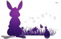 Cute Easter Wallpaper Silhouette
