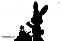 Rabbit Symbol Silhouette