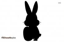 Rabbit Silhouette Vector Image