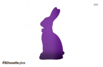 Easter Bunny Silhouette Clipart And Vector