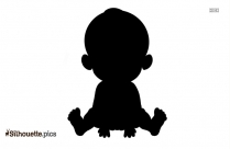 Easy Baby Drawing Silhouette