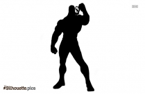 Eddie Brock Symbol Silhouette