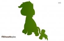 Eeyore Silhouette Image, Winnie The Pooh Horse Illustration