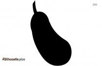 Potato Clipart Silhouette Free Vector Art, Vegetables Icon