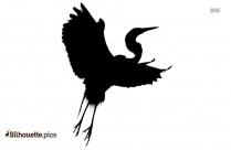 Mynah Bird Silhouette Black And White