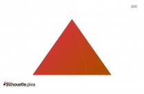 Egyptian Pyramid PNG Silhouette