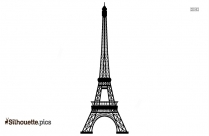 Eiffel Tower Silhouette Image