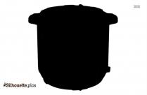 Tea Pot Silhouette Art