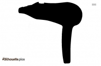 Electronic Blower Clipart Silhouette